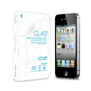 【iPhone4S/4 フィルム】GLAS.t Premium Tempered Glass Screen Protector