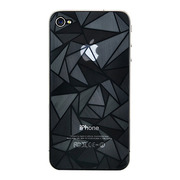 【iPhone4S/4 フィルム】3D screen protector for iPhone4S/4(triangle3D)