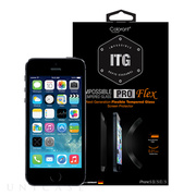 【iPhoneSE(第1世代)/5s/5c/5 フィルム】ITG PRO Flex - Impossible Tempered Glass