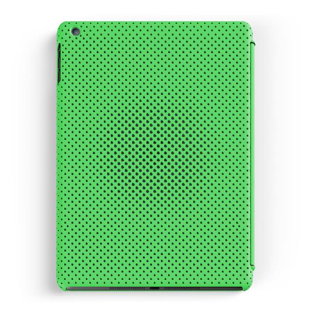 ipad air ケース mesh shell case mat green 画像一覧 unicase