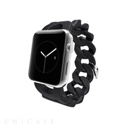 【AppleWatch Series5/4/3/2/1(40/38mm) バンド】Apple Watchband Turnlock, Black