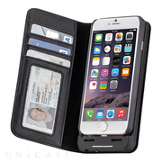 【iPhone6s/6 ケース】Charging Wallet Folio Case (Black)