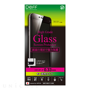 【iPhone6s Plus/6 Plus フィルム】High Grade Glass Screen Protector Full Front 0.33mm スタンダード (Black)