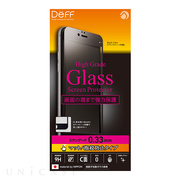 【iPhone6s Plus/6 Plus フィルム】High Grade Glass Screen Protector Full Front 0.33mm マット (Black)