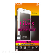 【iPhone6s Plus/6 Plus フィルム】High Grade Glass Screen Protector Full Front 0.33mm マット (White)