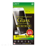 【iPhone6s Plus/6 Plus フィルム】Chemically Toughened Glass Screen Protector Dragontrail X Full Front 0.55mm (White)