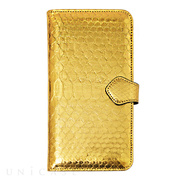【iPhone6s Plus/6 Plus ケース】PYTHON Diary Gold for iPhone6s Plus/6 Plus