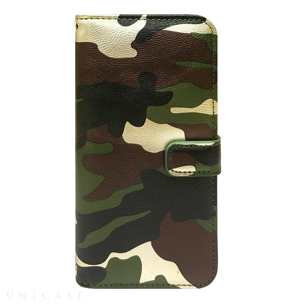 【限定】【iPhone6s/6 ケース】CAMO Diary Green for iPhone6s/6