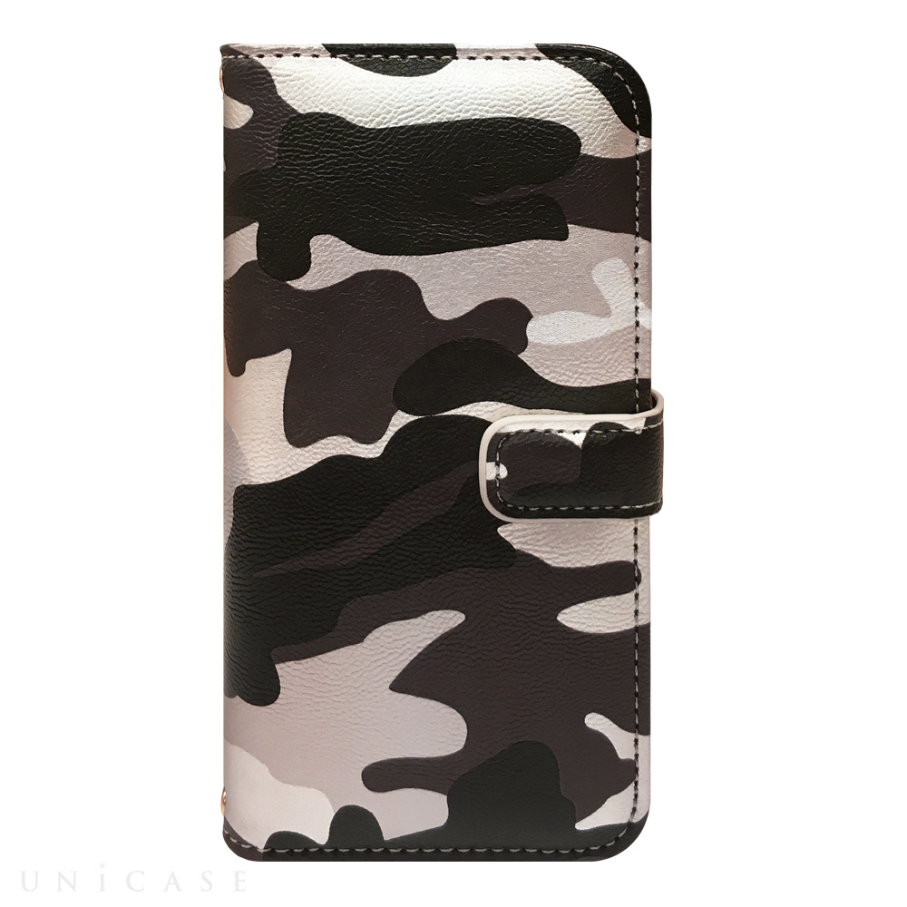 【iPhone6s/6 ケース】CAMO Diary Gray for iPhone6s/6