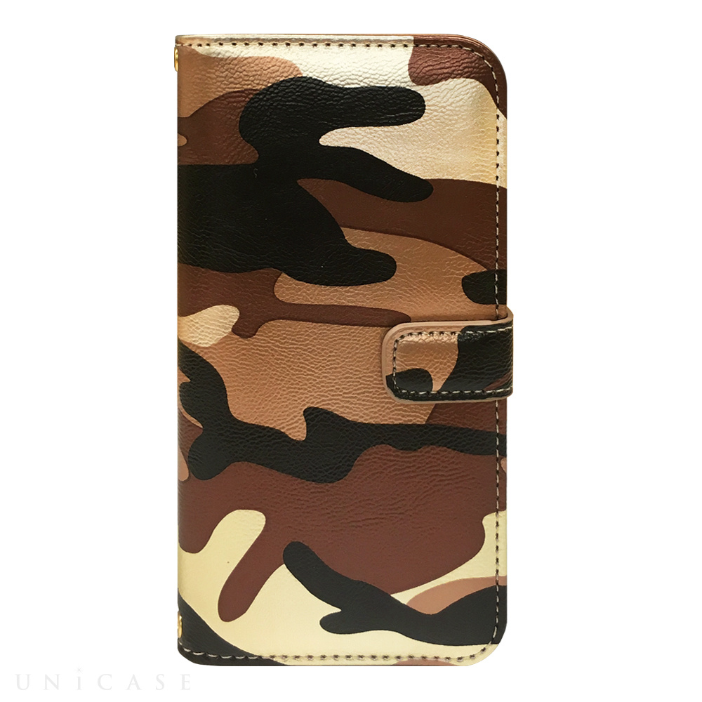 【iPhone6s/6 ケース】CAMO Diary Brown for iPhone6s/6