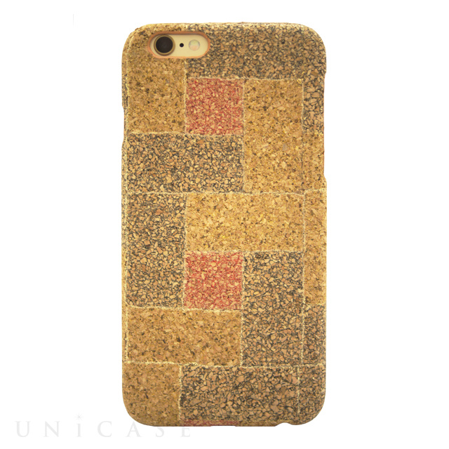【iPhone6s/6 ケース】Wood Check Gold for iPhone6s/6