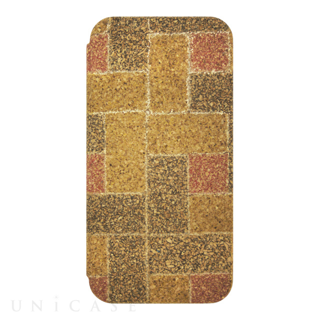 【iPhone6s/6 ケース】Wood Diary Check Gold for iPhone6s/6