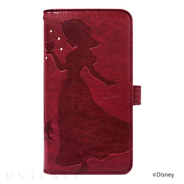 【マルチ スマホケース】ディズニーキャラクター ウォレットケース for 5inch 白雪姫