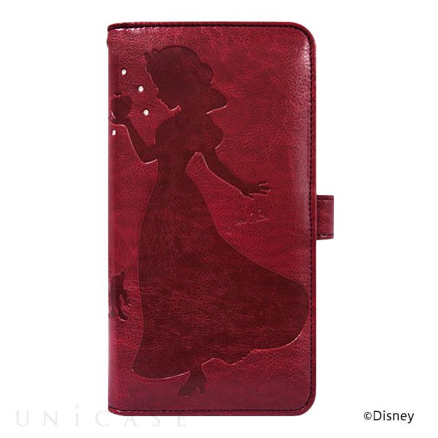 【マルチ スマホケース】ディズニーキャラクター ウォレットケース for 5.5inch 白雪姫