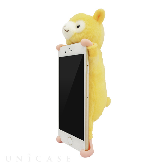 【iPhone8/7/6s/6 ケース】ALPACA Yellow