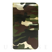 【iPhone6s Plus/6 Plus ケース】CAMO Diary Green for iPhone6s Plus/6 Plus