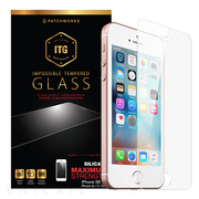 【iPhoneSE(第1世代)/5s/5c/5 フィルム】ITG Silicate - Impossible Tempered Glass