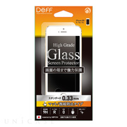 【iPhoneSE(第1世代)/5s/5c/5 フィルム】High Grade Glass Screen Protector (マット指紋防止/0.33mm)