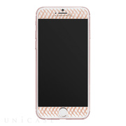 【iPhone8 Plus/7 Plus フィルム】Gilded Glass Screen Protector (Rose Gold)