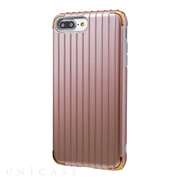 "【iPhone8 Plus/7 Plus ケース】""Rib 2"" Hybrid Case (Rose Gold)"