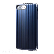"【iPhone8 Plus/7 Plus ケース】""Rib 2"" Hybrid Case (Navy)"