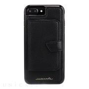 【iPhone8 Plus/7 Plus ケース】Compact Mirror Case (Black)