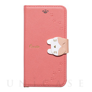 【iPhoneSE(第2世代)/8/7/6s/6 ケース】手帳型ケース Cocotte (Pink)
