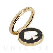 RING STAND (COLORBLOCK black/cream/gold)