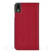 【iPhoneXR ケース】Barely There Folio (Cardinal)