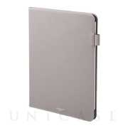 "【iPad Pro(11inch)(第1世代) ケース】""EURO Passione"" Book PU Leather Case (Gray)"