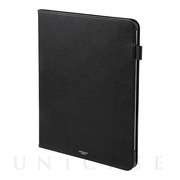 "【iPad Pro(12.9inch)(第3世代) ケース】""EURO Passione"" Book PU Leather Case (Black)"