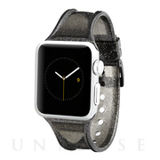 【AppleWatch Series5/4/3/2/1(40/38mm) バンド】Apple Watchband Sheer Glam (Noir)