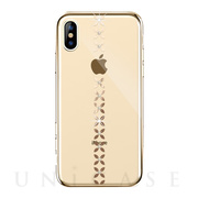 【iPhoneXS Max ケース】lucky star Crystal Case (Gold)