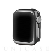 【AppleWatch Series5/4(40mm) ケース】Gold-plated APPLE watch4 case (Black)