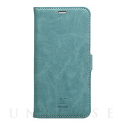【iPhone11 ケース】手帳型ケース Style Natural (Turquoise)