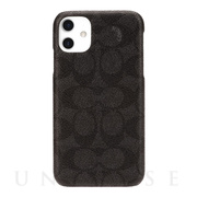 【iPhone11 ケース】SLIM WRAP CASE SIGNATURE C WRAP (Black)