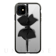 【iPhone11 ケース】Impact Case (Black Bow/Black)