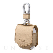 "【AirPods ケース】""EURO Passione"" PU Leather Case (Gold)"