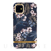 【iPhone11 ケース】Floral Jungle - Gold details
