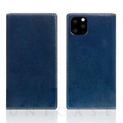 【iPhone11 Pro ケース】Tamponata Leather case (Blue)