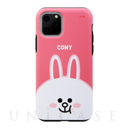 【iPhone11 Pro ケース】DUAL GUARD FACE (CONY)