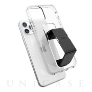 【iPhone11 Pro ケース】CLEAR GRIPCASE FOUNDATION (CLEAR/BLACK)