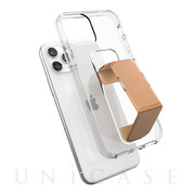 【iPhone11/XR ケース】CLEAR GRIPCASE FOUNDATION (CLEAR/ROSE GOLD)