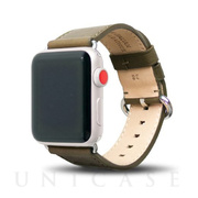 【AppleWatch Series5/4/3/2/1(40/38mm) バンド】Apple Watch band (Olive)