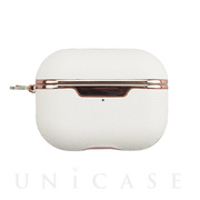 【AirPods Pro ケース】AirPods Pro Texture Case(emboss-white)