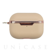 【AirPods Pro ケース】AirPods Pro Texture Case(smooth-beige)