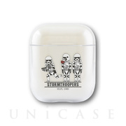 【AirPods ケース】STAR WARS AirPods クリアケース (STORM TROOPER)