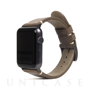 【AppleWatch Series5/4/3/2/1(40/38mm) バンド】Italian Buttero Leather (ベージュ)