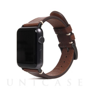 【AppleWatch Series5/4/3/2/1(40/38mm) バンド】Italian Buttero Leather (ブラウン)
