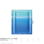 【AirPods ケース】TILE COCKTAIL (グラデーション BLUE)